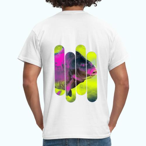 Neon colors fish - Men's T-Shirt