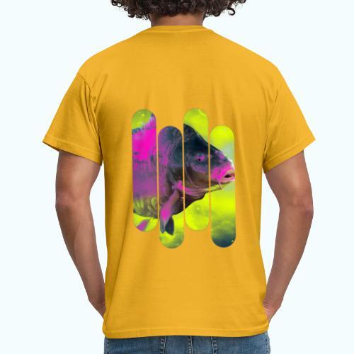 Neon colors fish - Men's T-Shirt