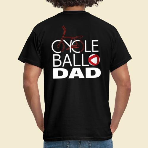 Radball   Cycle Ball Dad - Männer T-Shirt