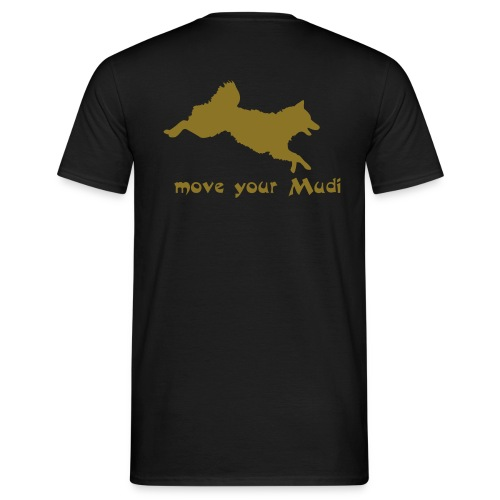 move your mudi - Men's T-Shirt