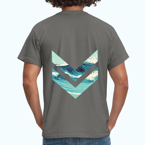 Wellenreiter rhombus - Men's T-Shirt