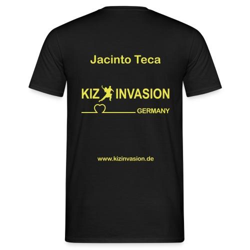 KizInvasionHinten JacontoTeca - Männer T-Shirt