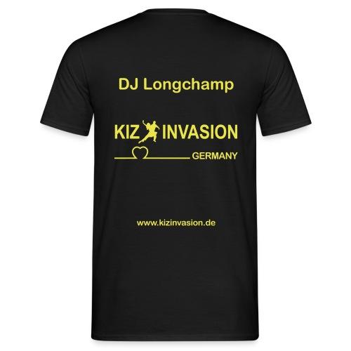 KizInvasionHinten DJ Longchamp - Männer T-Shirt