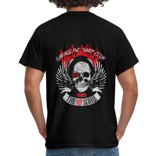 Dart Club Garage The Score 180 - Männer T-Shirt