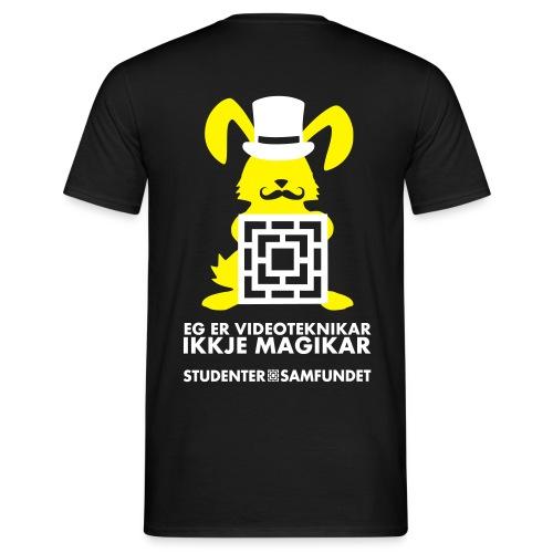 vk kanin trylle6 - T-skjorte for menn