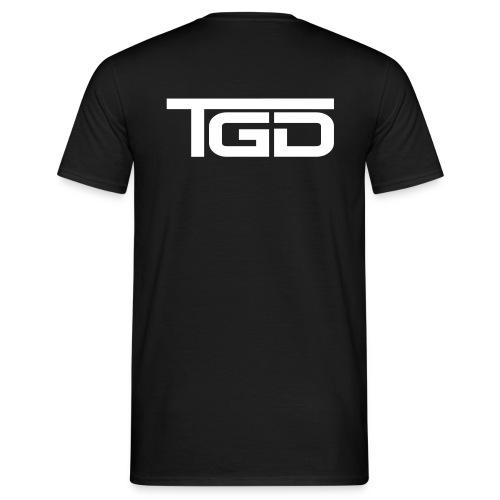 TGD Logo full - Männer T-Shirt
