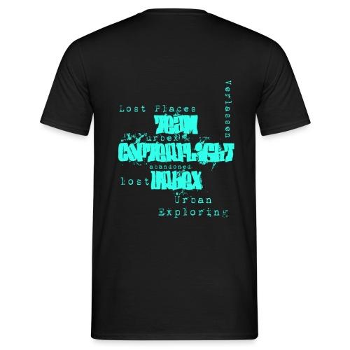 Tshirtlogotürkis png - Männer T-Shirt