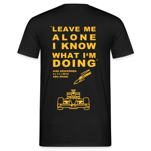 kimi shirt - Männer T-Shirt