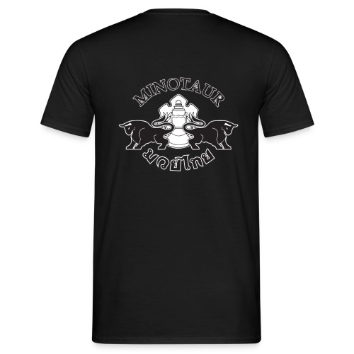 logoblackwhite - Men's T-Shirt