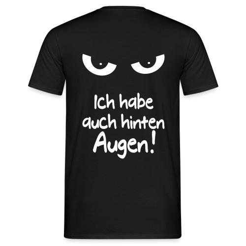 Böser Blick Augen Schlechte Laune Sprüche Geschenk - Männer T-Shirt