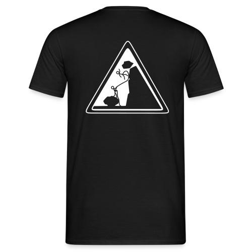 Steinschlag - Männer T-Shirt
