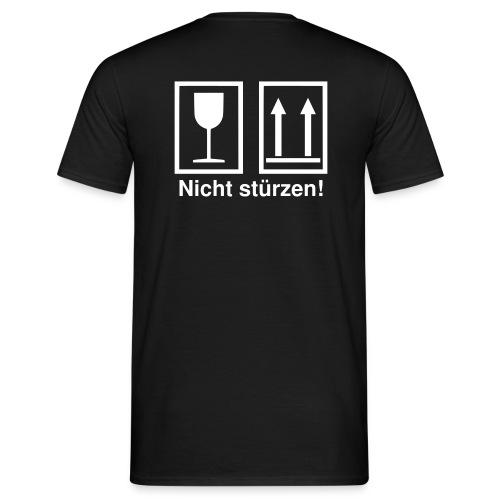 Nicht stürzen - Männer T-Shirt