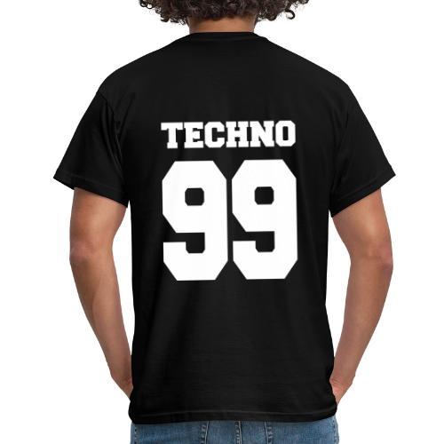 Techno 99 - Männer T-Shirt