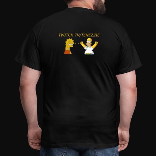 Tenezzie fan - Herre-T-shirt