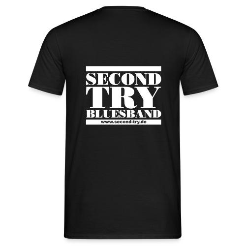 noch ein zweiter versuch - Männer T-Shirt