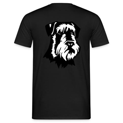 Riesensnautzer head - Miesten t-paita