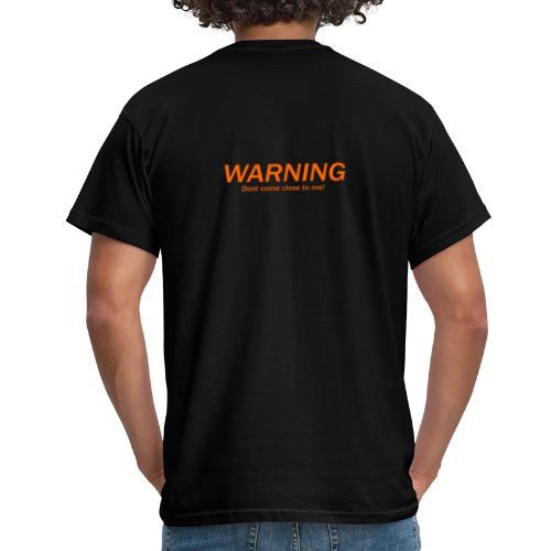 Corona Warning T-shirt - T-shirt herr