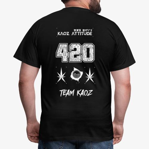 // Team Kaoz 420 Football Shirt - Männer T-Shirt