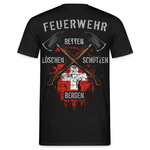 Retten Löschen Bergen Schützen - Männer T-Shirt