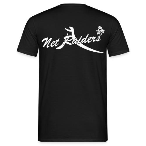 Logo Netraides Colori BIG - Maglietta da uomo