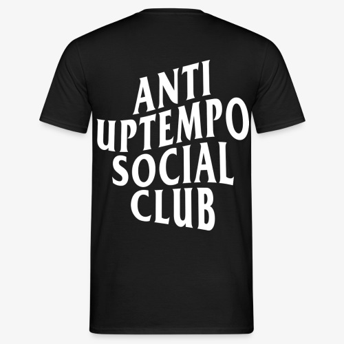logo anti uptempo social club - T-shirt Homme