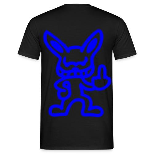 hochladenblau png - Männer T-Shirt