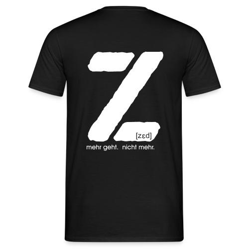z shirt 1 - Männer T-Shirt