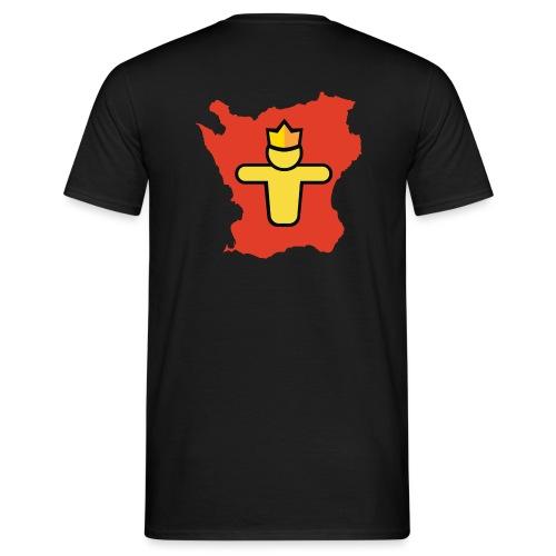 Turf Skåne symbol - T-shirt herr