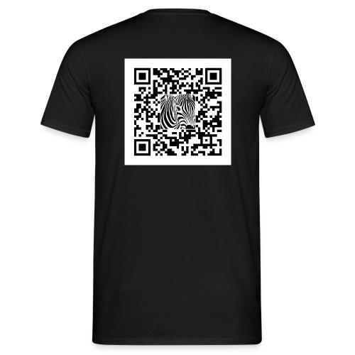 QR Code Een sjans dat - Mannen T-shirt