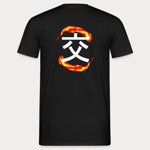 FLAMMES - T-shirt Homme