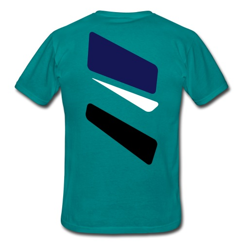 3 strikes triangle - Men's T-Shirt