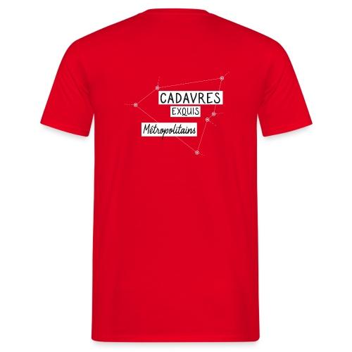 Cadavres Exquis Métropolitains - T-shirt Homme