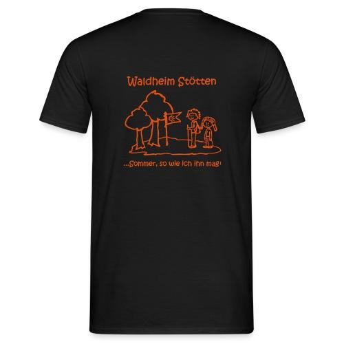 Waldheim Stötten Sommer so wie ich ihn mag - Männer T-Shirt