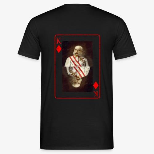 Kaiser Franz von Österreich spielkarte - Männer T-Shirt