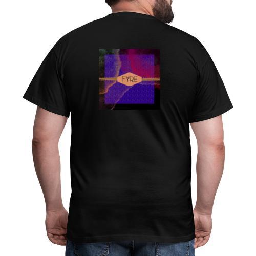 FYRE Colour Splat Print - Men's T-Shirt