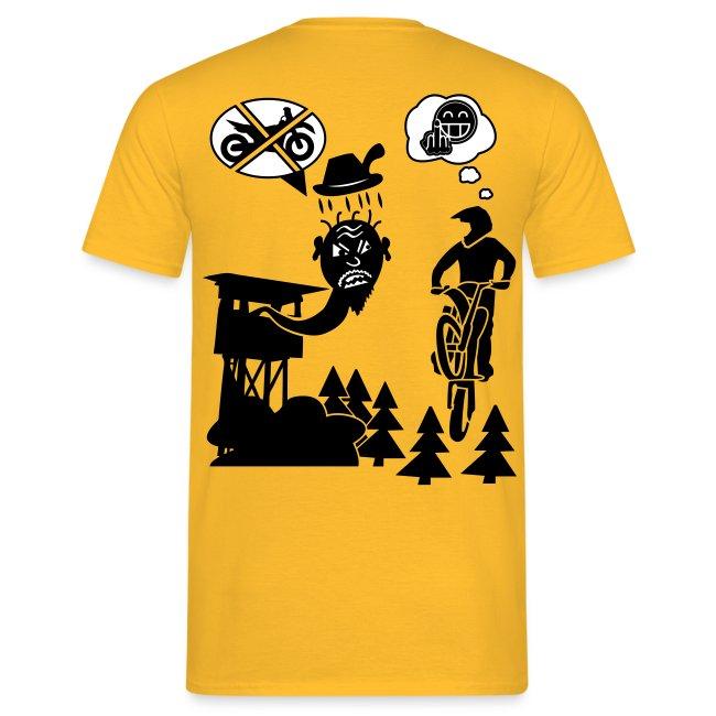 Biker vs. Hunter colour HQ