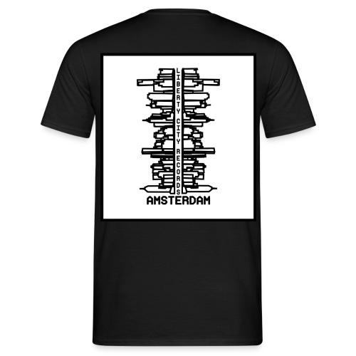 liberty city records amsterdam 1 - Mannen T-shirt