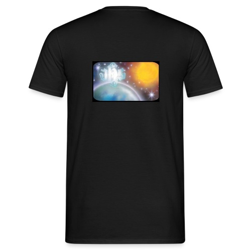 C JHS Espace Cadre noir - T-shirt Homme