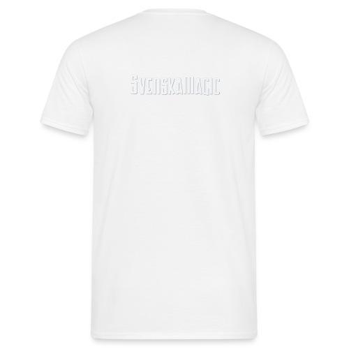 svmlogo vit - T-shirt herr