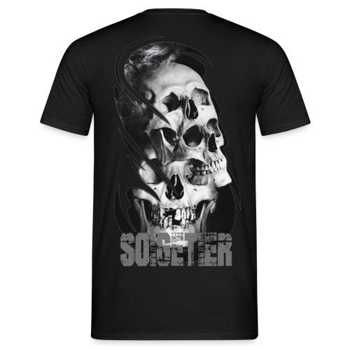 3 skulls - Männer T-Shirt