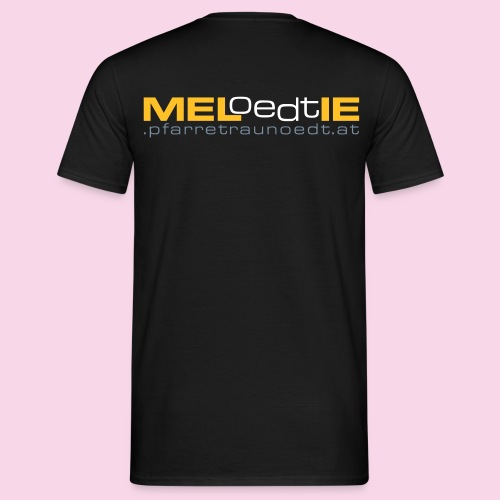 meloedtie www 3c - Männer T-Shirt