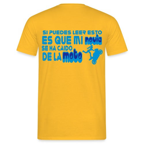 caidomoto dibu - Camiseta hombre