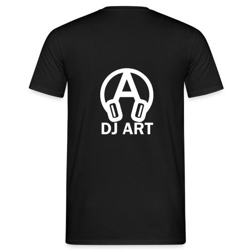 DJ Art (donkere pull-kleuren) - Mannen T-shirt