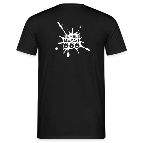 RB666 Logo SW png - Männer T-Shirt