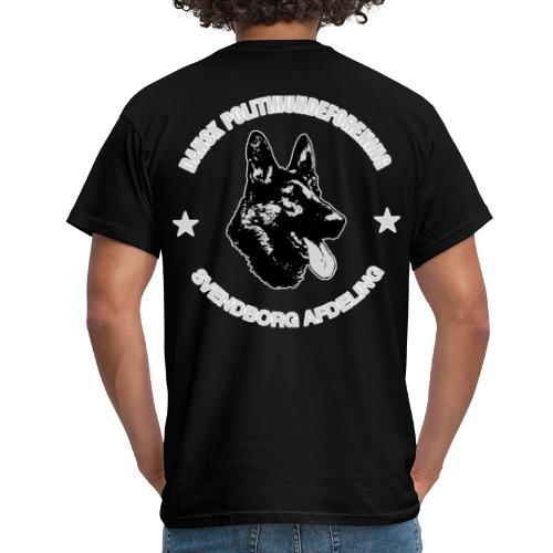 Svendborg PH hvid skrift med extra glød - Herre-T-shirt