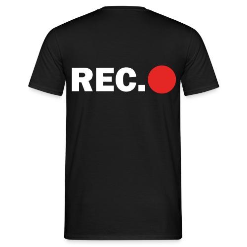 Cameraman Cap - Mannen T-shirt