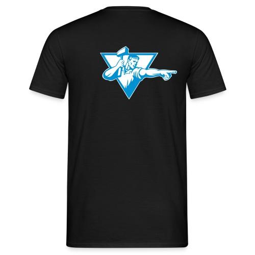 manWithHammer2 - Männer T-Shirt