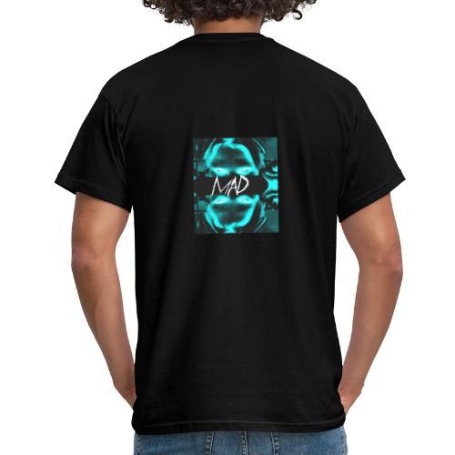 """Mad"" ( INVERTED ) - T-shirt herr"