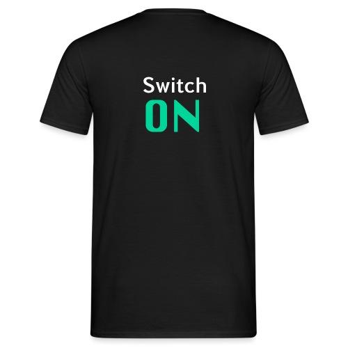 SwitchOn ohne alpha kanal png - Männer T-Shirt