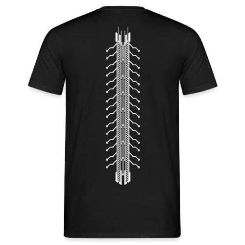 Tech Spine - Männer T-Shirt